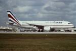 tassさんが、マイアミ国際空港で撮影したラクサ A320-212の航空フォト(写真)
