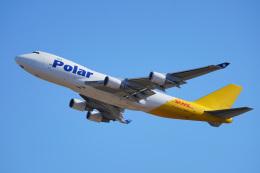 ちゃぽんさんが、成田国際空港で撮影したポーラーエアカーゴ 747-45EF/SCDの航空フォト(写真)