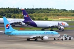 Kuuさんが、成田国際空港で撮影した大韓航空 737-9B5の航空フォト(飛行機 写真・画像)