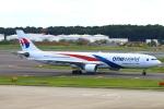 Kuuさんが、成田国際空港で撮影したマレーシア航空 A330-323Xの航空フォト(飛行機 写真・画像)