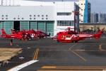 グリスさんが、東京ヘリポートで撮影した東京消防庁航空隊 EC225LP Super Puma Mk2+の航空フォト(写真)