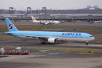 けいとパパさんが、羽田空港で撮影した大韓航空 777-3B5の航空フォト(写真)