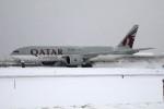 北の熊さんが、新千歳空港で撮影したカタール航空カーゴ 777-FDZの航空フォト(飛行機 写真・画像)