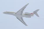 KAMIYA JASDFさんが、函館空港で撮影したFireblade Aviation BD-700-1A10 Global 6000の航空フォト(写真)