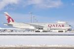 新千歳空港 - New Chitose Airport [CTS/RJCC]で撮影されたカタール航空カーゴ - Qatar Airways Cargo [QAC]の航空機写真