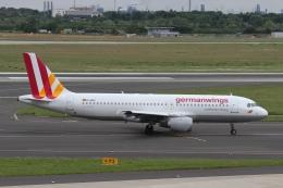 rjジジィさんが、デュッセルドルフ国際空港で撮影したジャーマンウィングス A320-211の航空フォト(飛行機 写真・画像)