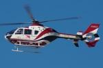 MOR1(新アカウント)さんが、福岡空港で撮影した読売新聞 EC135P2の航空フォト(写真)