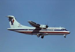 tassさんが、マイアミ国際空港で撮影したアメリカン・イーグルの航空フォト(飛行機 写真・画像)