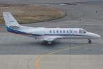MOR1(新アカウント)さんが、福岡空港で撮影した朝日新聞社 560 Citation Encoreの航空フォト(写真)