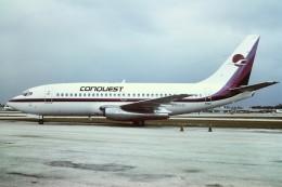 tassさんが、フォートローダーデール・ハリウッド国際空港で撮影したConquest Airlines 737-214の航空フォト(飛行機 写真・画像)