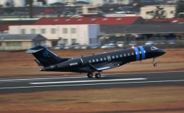 M.Ochiaiさんが、宮崎空港で撮影したウィルミントン・トラスト・カンパニー BD-700 Global Express/5000/6000の航空フォト(写真)