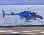 VICTER8929さんが、横浜ヘリポートで撮影した神奈川県警察 206L-4 LongRanger IVの航空フォト(写真)