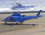 VICTER8929さんが、横浜ヘリポートで撮影した神奈川県警察 AW109SPの航空フォト(写真)