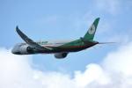 MOHICANさんが、関西国際空港で撮影したエバー航空 787-9の航空フォト(写真)
