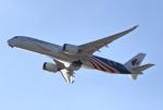 MOHICANさんが、関西国際空港で撮影したマレーシア航空 A350-941XWBの航空フォト(写真)