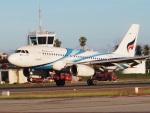 ken1☆MYJさんが、サムイ国際空港で撮影したバンコクエアウェイズ A319-132の航空フォト(写真)