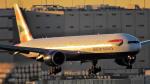 Ocean-Lightさんが、羽田空港で撮影したブリティッシュ・エアウェイズ 777-336/ERの航空フォト(写真)