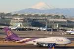 imosaさんが、羽田空港で撮影したタイ国際航空 747-4D7の航空フォト(写真)