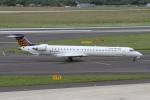 rjジジィさんが、デュッセルドルフ国際空港で撮影したユーロウイングス CL-600-2D24 Regional Jet CRJ-900 NextGenの航空フォト(写真)