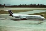 tassさんが、シンガポール・チャンギ国際空港で撮影したトレードウィンズ MD-87 (DC-9-87)の航空フォト(飛行機 写真・画像)