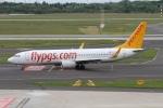 rjジジィさんが、デュッセルドルフ国際空港で撮影したペガサス・エアラインズ 737-82Rの航空フォト(写真)