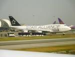 RUNWAY24さんが、スワンナプーム国際空港で撮影したタイ国際航空 747-4D7の航空フォト(飛行機 写真・画像)