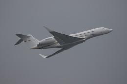 Tomochanさんが、成田国際空港で撮影したウェルズ・ファーゴ・バンク・ノースウェスト G650 (G-VI)の航空フォト(飛行機 写真・画像)