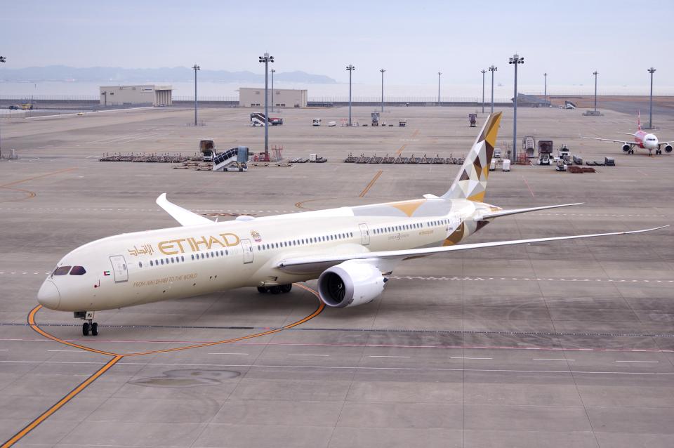 yabyanさんのエティハド航空 Boeing 787-10 (A6-BMA) 航空フォト