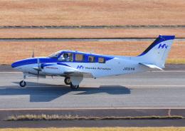 じーく。さんが、大分空港で撮影した本田航空 58 Baronの航空フォト(写真)