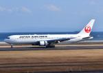 じーく。さんが、大分空港で撮影した日本航空 767-346/ERの航空フォト(飛行機 写真・画像)