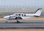じーく。さんが、大分空港で撮影した岡山航空 G58 Baronの航空フォト(飛行機 写真・画像)