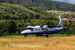 アミーゴさんが、三宅島空港で撮影した新中央航空 Do 228-212 NGの航空フォト(飛行機 写真・画像)
