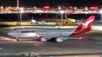 Ocean-Lightさんが、羽田空港で撮影したカンタス航空 747-438/ERの航空フォト(写真)