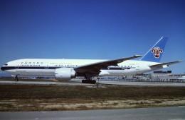 tassさんが、北京首都国際空港で撮影した中国南方航空 777-21Bの航空フォト(写真)