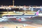 Masaki_747さんが、羽田空港で撮影したカタール航空 A350-1041の航空フォト(写真)