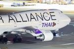 Masaki_747さんが、羽田空港で撮影したタイ国際航空 747-4D7の航空フォト(写真)