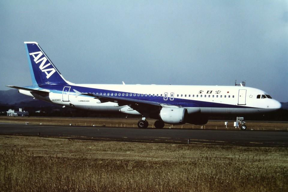 tassさんの全日空 Airbus A320 (JA8383) 航空フォト