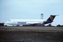 tassさんが、ロンドン・スタンステッド空港で撮影したライアンエア 111-501EX One-Elevenの航空フォト(飛行機 写真・画像)