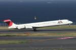 meskinさんが、羽田空港で撮影した日本航空 MD-90-30の航空フォト(写真)