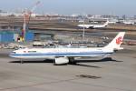 ハム太郎。さんが、羽田空港で撮影した中国国際航空 A330-343Xの航空フォト(写真)