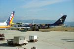 撮り空ひでさんが、関西国際空港で撮影した全日空 747SR-81の航空フォト(写真)
