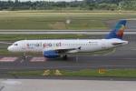 rjジジィさんが、デュッセルドルフ国際空港で撮影したスモール・プラネット・エアラインズ・ポーランド A320-233の航空フォト(写真)