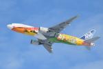 turenoアカクロさんが、新千歳空港で撮影した全日空 777-281/ERの航空フォト(飛行機 写真・画像)