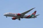 BTYUTAさんが、スワンナプーム国際空港で撮影したケニア航空 787-8 Dreamlinerの航空フォト(写真)