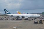 pringlesさんが、台湾桃園国際空港で撮影したキャセイパシフィック航空 747-467F/ER/SCDの航空フォト(写真)