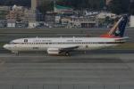 MOR1(新アカウント)さんが、福岡空港で撮影したタイ政府 737-4Z6の航空フォト(写真)