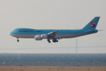 おぺちゃんさんが、関西国際空港で撮影した大韓航空 747-8B5F/SCDの航空フォト(写真)