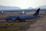 奈良ン児さんが、関西国際空港で撮影したユナイテッド航空 787-8 Dreamlinerの航空フォト(写真)