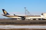 セブンさんが、新千歳空港で撮影したシンガポール航空 A330-343Xの航空フォト(飛行機 写真・画像)
