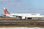 セブンさんが、新千歳空港で撮影したフィリピン航空 A321-271Nの航空フォト(飛行機 写真・画像)